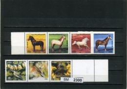BM2300, Syrien, Xx, 1898-91, 1953-55, Kplt. Zusammendrucke, Leerfeld, Z-steg - Syrien