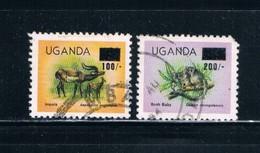 Uganda 386;389 Used Animals CV 5.15 (U0049) - Uganda (1962-...)