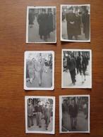 Lot De 23 Photos Personnes Sur La Canebière Marseille - Années 1940 - Places