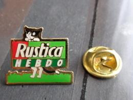 PIN'S RUSTICA HEBDO - Pin's