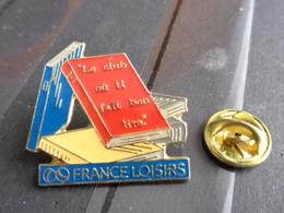 PIN'S FRANCE LOISIRS - Pin's