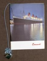 Collezionismo - Menu Nave RMS Queen Mary - Cunard - Gala Dinner 15 Gennaio 1963 - Menu