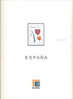España - Suplemento EDIFIL Año 2003 - Montado Con Filaestuches Transparentes - 17 Hojas - Envio Gratuito A España - Pre-Impresas