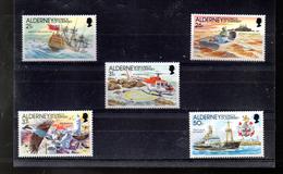 ALDERNEY 49/53** SUR L HISTOIRE DU PHARE DES CASQUETS - Alderney