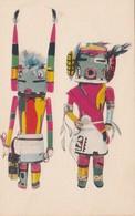 Kachina Dolls , Hopi Indian , Arizona, American Indian Museum , NYC , 1940s - Indiens De L'Amerique Du Nord