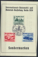 Deutsches Reich 686/88 Auf Sonderkarte O Ersttagssonderstempel Berlin - Deutschland