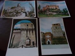 B725    4 Cartoline San Marino Non Viaggiate - San Marino