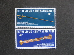 République Centrafricaine -  TB Paire N° 242 Et N° 243. Neufs XX. - Centrafricaine (République)