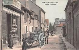 10.n°56690.romilly Sur Seine.rue Des Fontaines - Romilly-sur-Seine