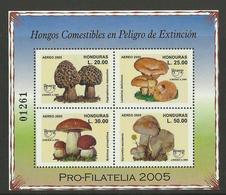 HONDURAS  2005  MUSHROOMS  MNH - Champignons