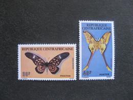 République Centrafricaine -  TB Paire N° 260 Et N° 261. Neufs XX. - Centrafricaine (République)