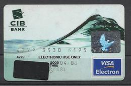 Hungary CIB Bank, Wave Exp. Date 2008. - Geldkarten (Ablauf Min. 10 Jahre)