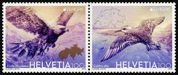 2019 Switzerland, Europa, CEPT, National Birds, 2 Stamps, MNH - 2019