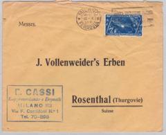 Brief In Die Schweiz (br6212) - 1900-44 Vittorio Emanuele III