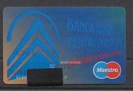 Romania BRD Bank(Romanian Development Bank),Exp. Date 2003. - Cartes De Crédit (expiration Min. 10 Ans)