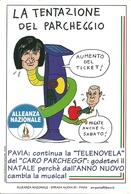 """Cartolina Umoristica """"Alleanza Nazionale M.S.I."""" - Humor"""