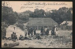 BRAZZAVILLE  ARRIVEE D'UNE CARAVANE AU D'JOUE - Brazzaville