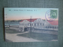 PRISON MILITAIRE MILITARY PRISON JAIL FT MCKINLEY 349 PHILIPPINES MANILLE MANILA CPA ALLEMANDE 1907 COLONIE Fort - Philippines
