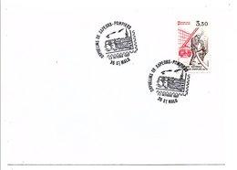 OBLITERATION ORPHELINS DE SAPEURS-POMPIERS SAINT MALO - Postmark Collection (Covers)