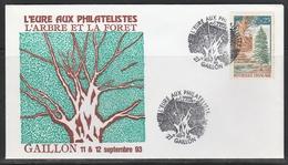 OBLIT. ILLUSTRÉE L'ARBRE Et La FORET - GAILLON 9/93 - 1961-....
