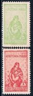 India, 1948/56, # 6/7, Assistência, MH - India Portuguesa