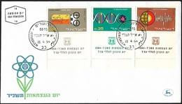1964 - ISRAEL - FDC + Michel 301/303 + JERUSALEM - FDC