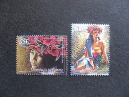Polynésie: TB Paire N° 1056 Et N° 1057, Neufs XX. - Polynésie Française