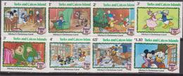 Turks And Caicos Is.   - 1982 Christmas Navidad Natale DISNEY Set MNH - Turks And Caicos