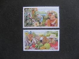 Polynésie: TB Paire N° 1054 Et N° 1055, Neufs XX. - Polynésie Française
