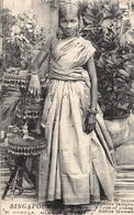 Type De Jeune Femme Indigène SINGAPOUR - Singapour