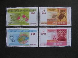Polynésie: TB Série N° 1048 Au N° 1051 ,neufs XX . - Polynésie Française