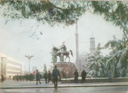 Tirana - Monument Skenderbej 1972 - Albania