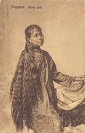 Malay Lady SINGAPOUR - Singapour