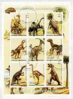 REPUBLICAN'I MADAGASIKARA  1999   ANIMAUX  PREHISTORIQUES         S.SHEET    (TIMBRATO) - Madagascar (1960-...)