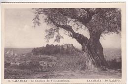 CP1068 Greece KALAMATA Le Chateau De Ville Hardouin - Grèce
