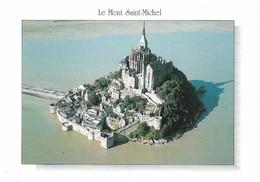 50 Le Mont Saint Michel La Face Nord Est Du Mont  (2 Scans) - Le Mont Saint Michel