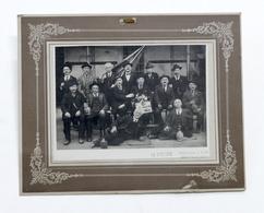 Fotografia D'epoca - Gruppo Coscritti 1860 - Serravalle Sesia - 1925 - Foto