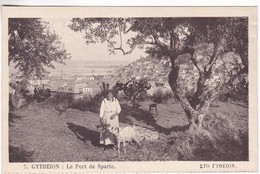 CP1069 Greece GYTHEION Le Port De Sparte - Grèce