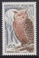 France, Fauna, Birds MNH / 1972 - Hiboux & Chouettes