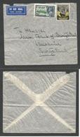 BC - Kenya. 1935 (14 Oct) GPO - Switzerland, Lausanne. Air Multifkd Envelope. - Unclassified