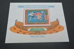 M6253 - Bloc MNH Mongolia - Mexico 1970 - Football World Championship - Copa Mundial