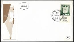 1965 - ISRAEL - FDC + Michel 338x [Tel Aviv-Jaffa] + TEL AVIV- YAFO - FDC