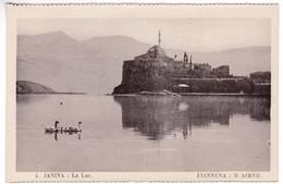 CP1072 Greece JANINA Le Lac - Grèce