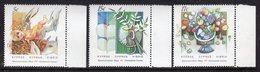 CYPRUS - 1987 CHRISTMAS TRADITIONAL COSTUMES SET (3V) FINE MNH ** SG 713-715 - Unused Stamps
