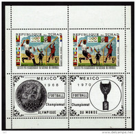 TCHAD   BF  * *   Cup  1970  Jo 1972   Fussball  Soccer  Football  Coupe - 1970 – Mexique