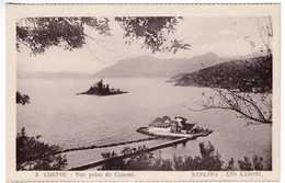 CP1073 Greece CORFOU Vue Prise De Canoni - Grèce