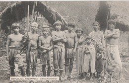 REPUBLICA ARGENTINA - INDIOS MISIONEROS - SUPERBE CARTE TRES TRES ANIMEE - 2 SCANNS -  TOP !!! - Native Americans