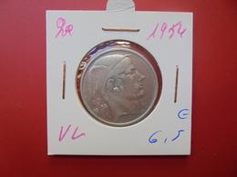 Baudouin 1er. 20 Francs ARGENT 1954 VL ( Date Plus Rare) - 1951-1993: Baudouin I