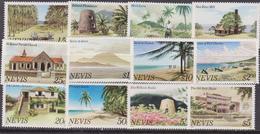 Nevis - Landscape Turistic Set 12 Val. MNH - America (Other)