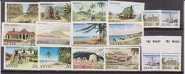 Nevis - Landscape Turistic Set 18 Val. MNH - America (Other)